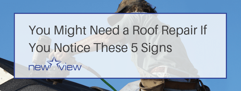 5 Signs You Need A Roof Repair - Dallas Roofing Experts