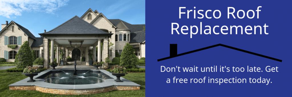 Frisco Roof Repair & Replacement