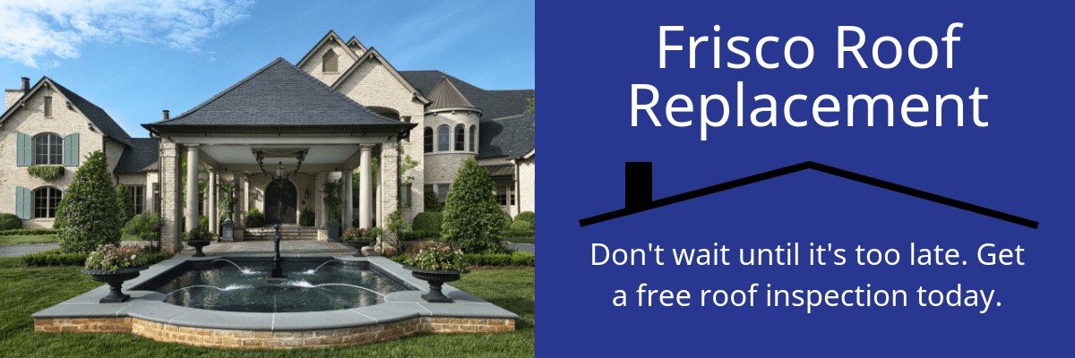 Frisco Roof Repair & Replacement
