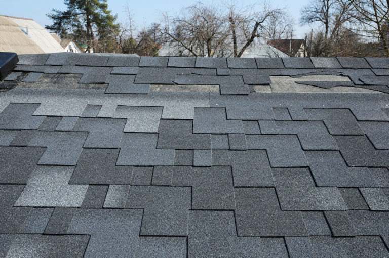 Missing Shingles- Roof Repair Job