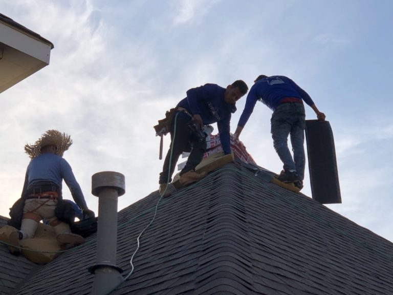 Residential Roof Replacement in The Colony - New View Roofing - Burton Hughes