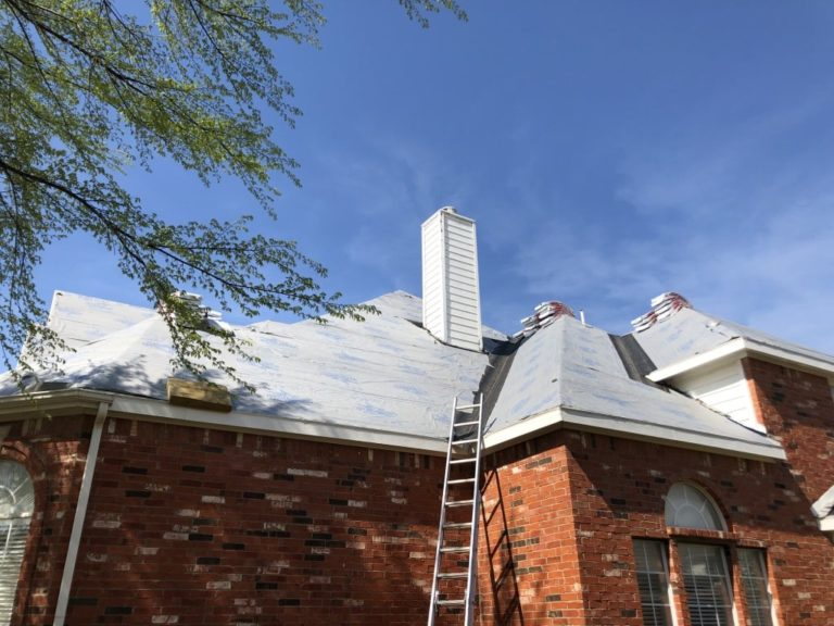 Residential Roof Replacement in Dallas - New View Roofing - Burton Hughes