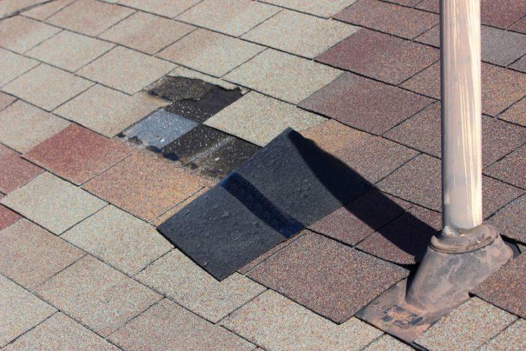 Wind Damage- Missing Shingle - Roof Repair