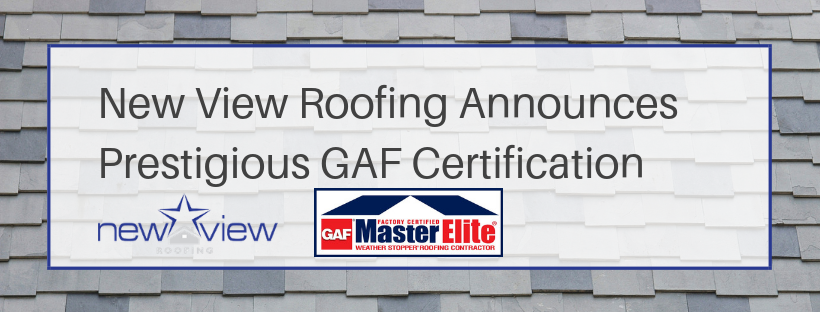 New View Announces GAF Certification