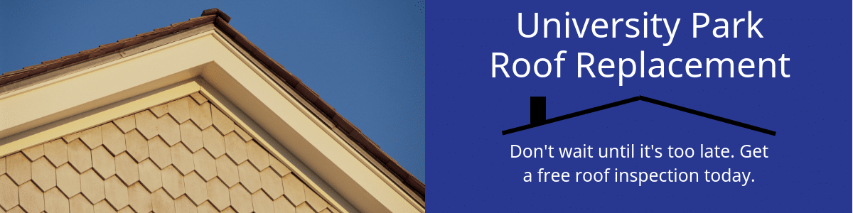 University park Roof Repair and replacement