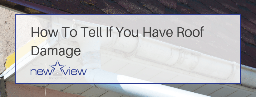 How to Identify Roof Damage Banner