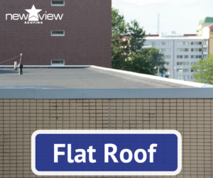 Flat Roof - New View Roofing